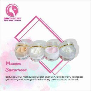 cream sunblock drw skincare