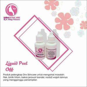 liquid peel off drw skincare
