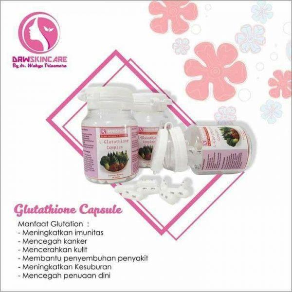 kapsul glutathion drw skincare