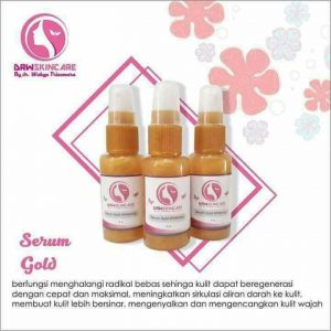 serum gold whitening drw skincare